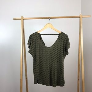 Old Navy • Relaxed Fit Triangle Top Bar Back Small